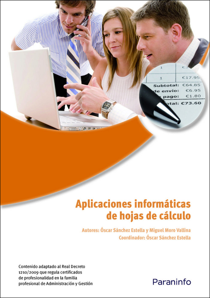 Aplicaciones informatica de hojas de calculo