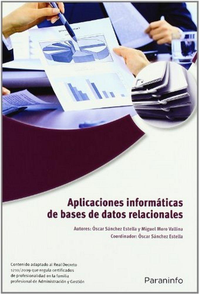 Aplicaciones informaticas de bases de datos