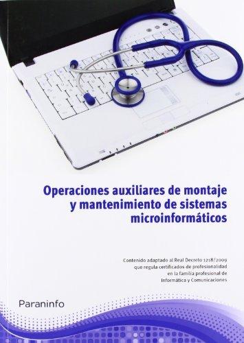 Operaciones auxiliares montaje y mantenimiento sistemas inf