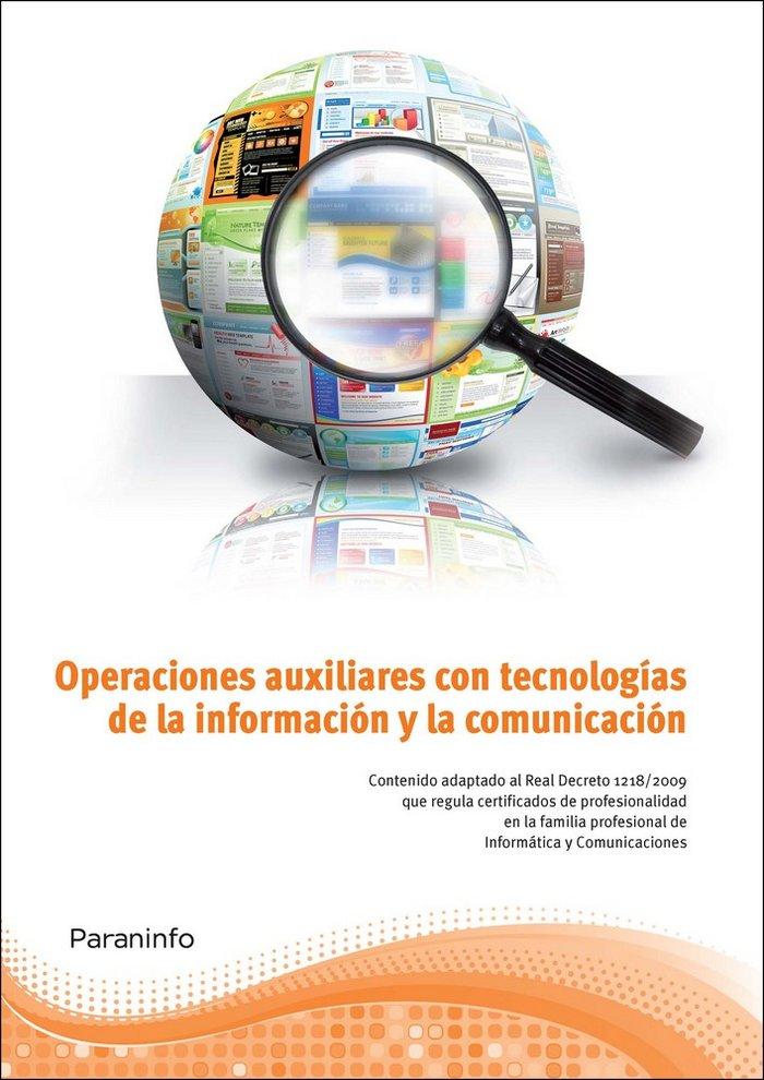 Operaciones auxiliares con tecnologias informacion
