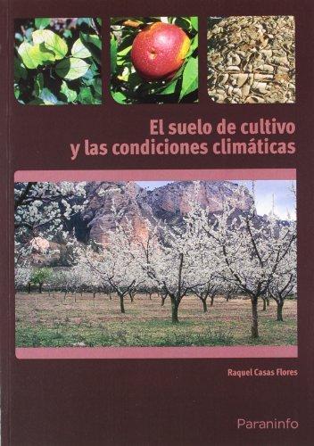Suelo de cultivo y condiciones climaticas