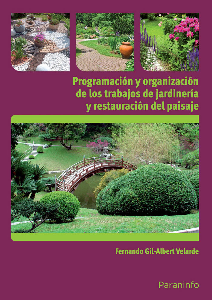 Programacion y organizacion trabajos jardineria y restaurac