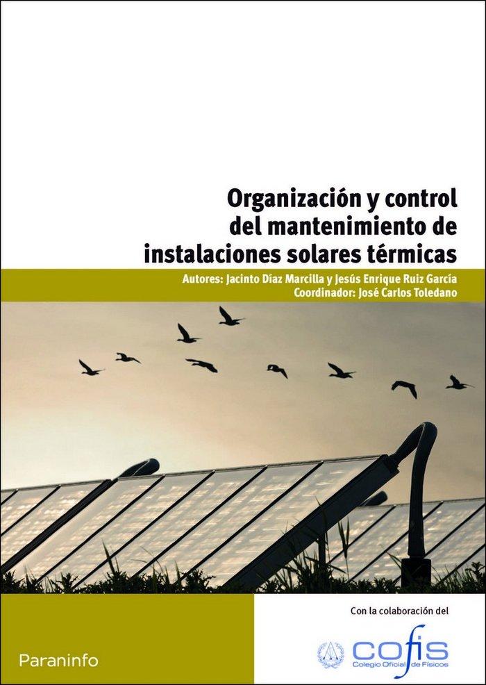 Organizacion control mantenimiento instalaciones solares