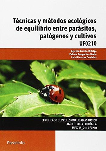 Tecnicas y metodos ecologicos de equilibrio entre parasitos