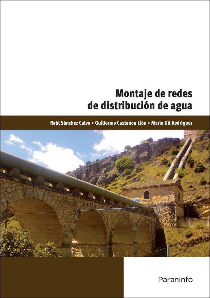 Montaje de redes de distribucion de agua