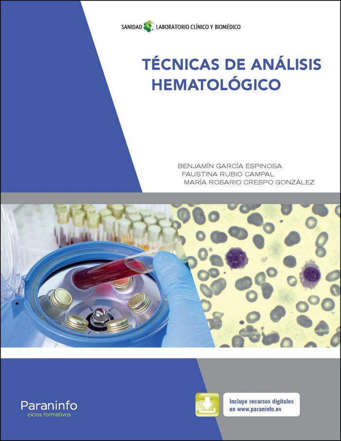 Tecnicas de analisis hematologico