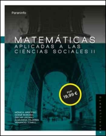 Matematicas ii para ciencias sociales. 2º bachillerato (lomc