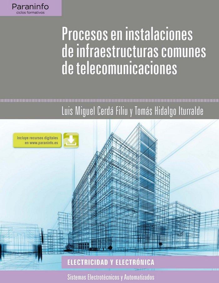 Procesos en instalaciones infraestructuras comunes telecomu