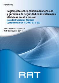 Reglamento sobre condiciones tecnicas y garanticas segurida