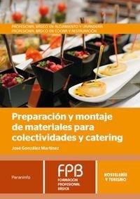 Preparacion montaje material colectividades catering