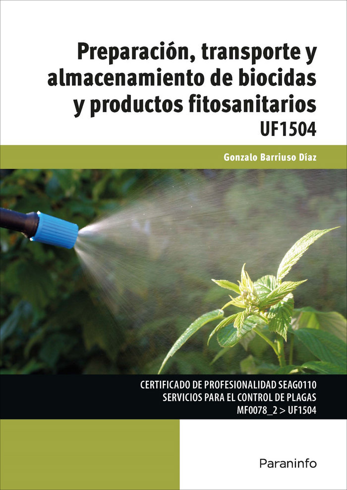 Prep.transp.almac. biocidas prod.fitosanitarios 18