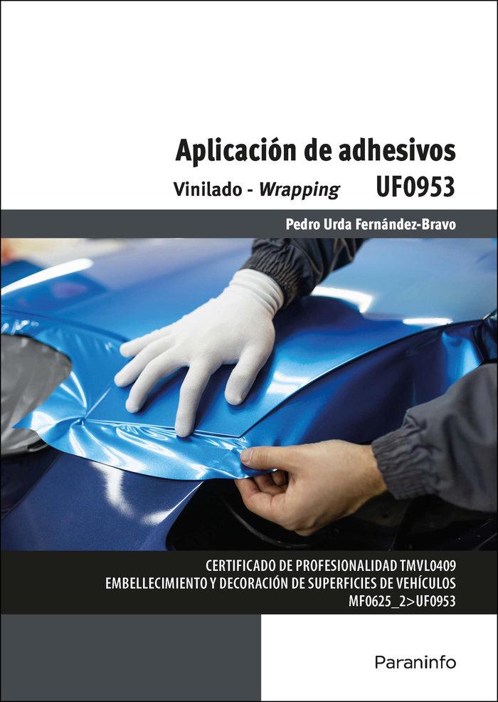 Aplicacion de adhesivos vinilado wrapping