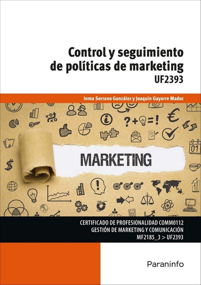 Control y seguimiento de politicas de marketing