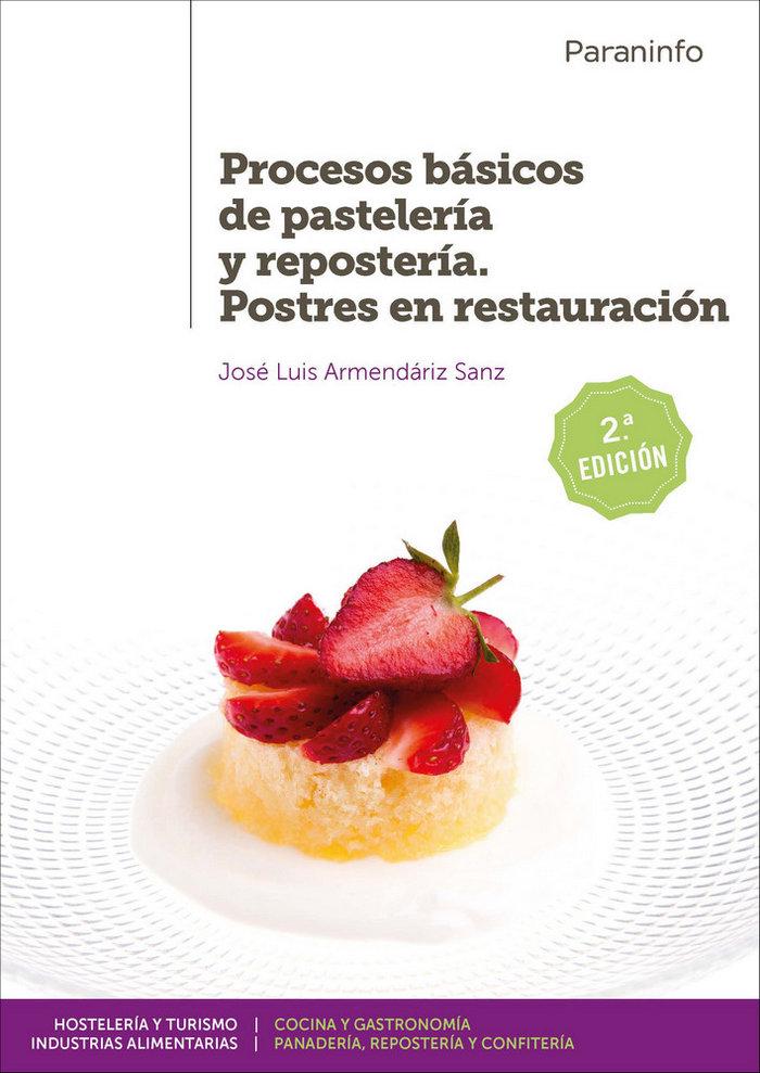 Procesos basicos pasteleria reposteria postres res. 19