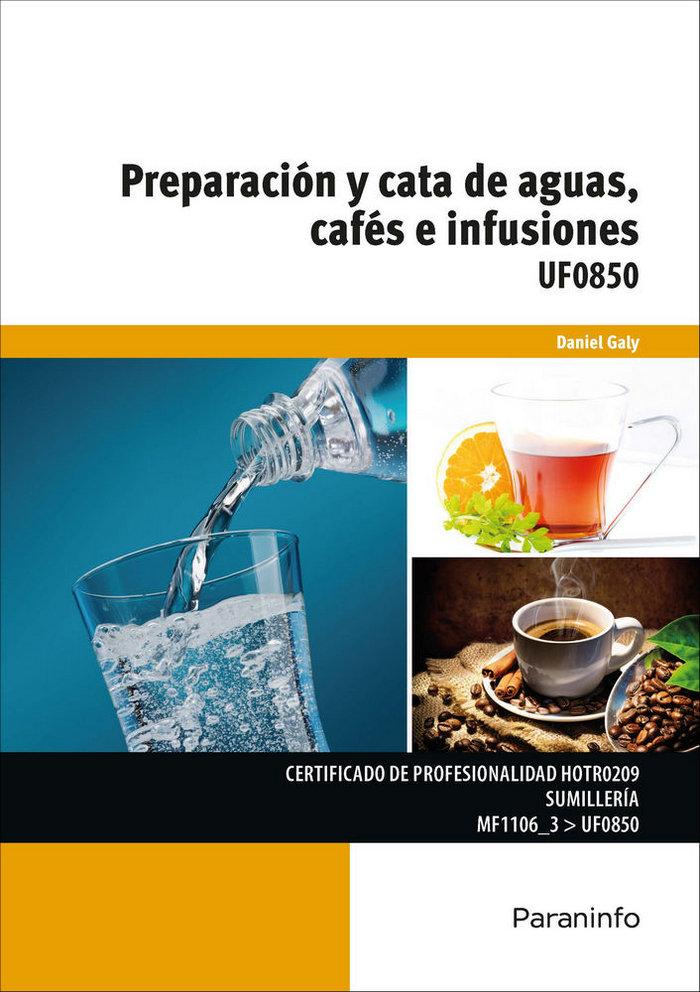 Uf0850 preparacion y catas de aguas cafes e infusiones