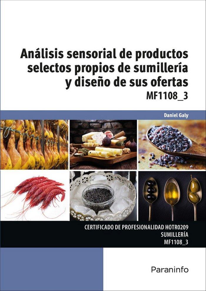 Analisis sensorial de productos selectos propios de sumiller