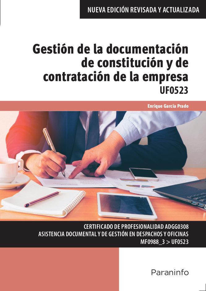 Gestion de la documentacion de constitucion y de contratacio