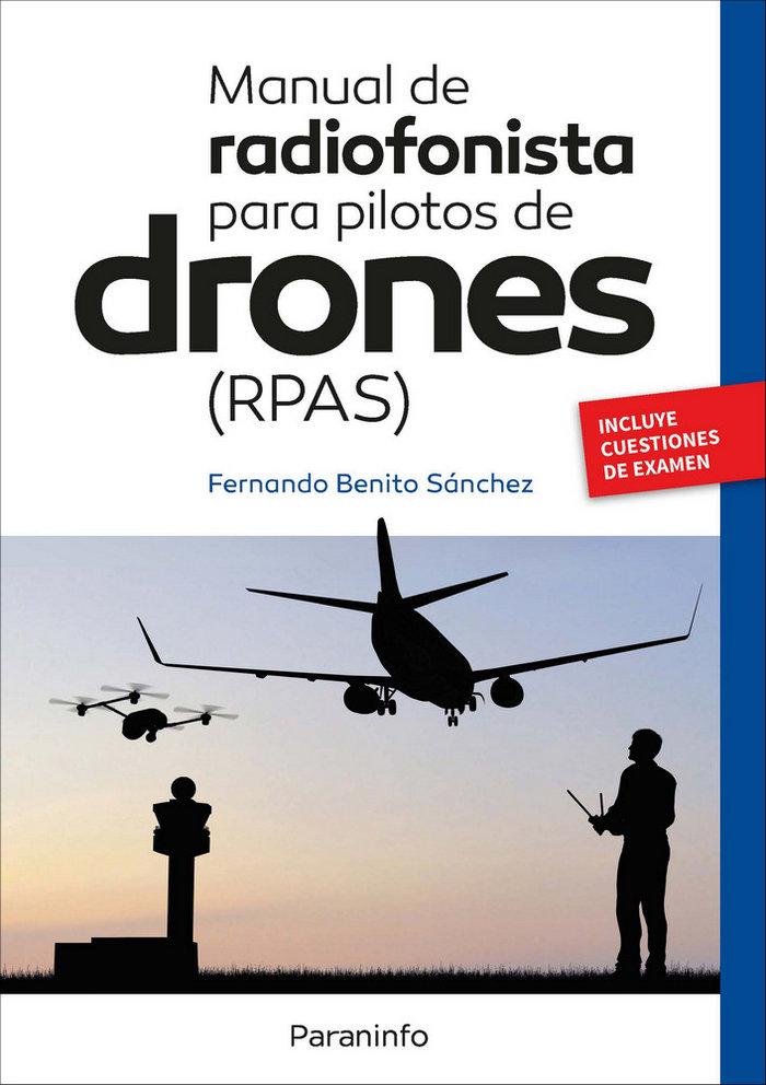 Manual de radiofonista para pilotos remotos de drones
