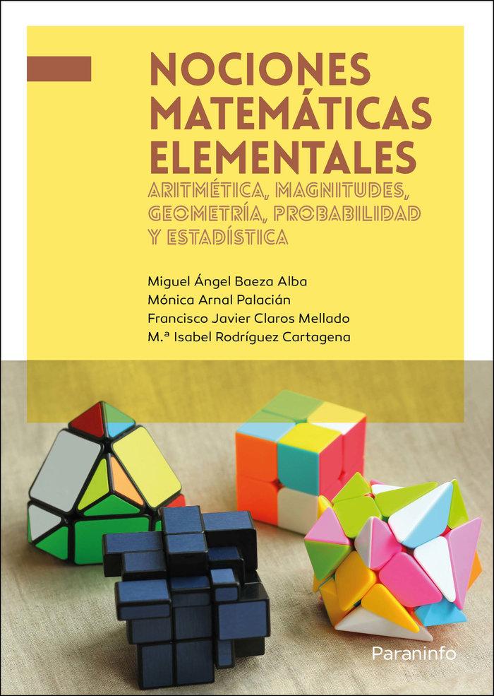 Nociones matematicas elementales aritmetica magnitudes