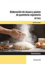 Elaboracion de masas y pastas de pasteleria reposteria