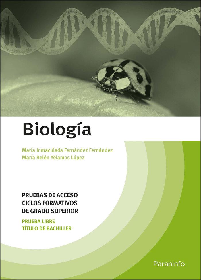 Biologia pruebas acceso ciclo formativo
