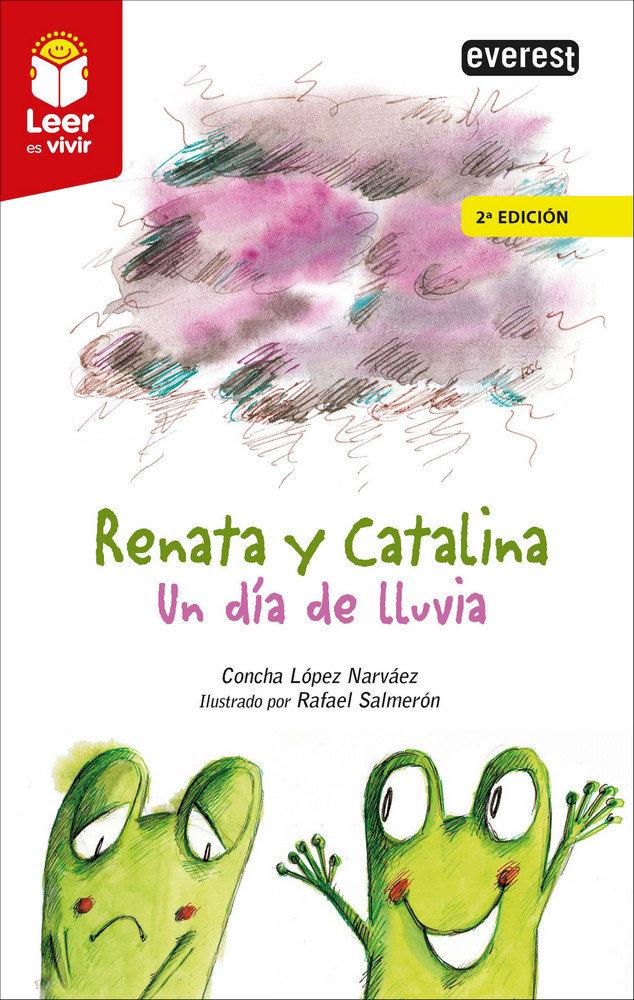 Renata y catalina. un dia de lluvia