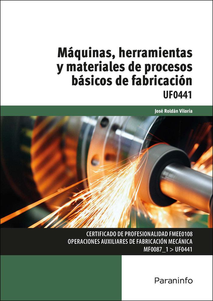 Maquinas herramientas y materiales de pro