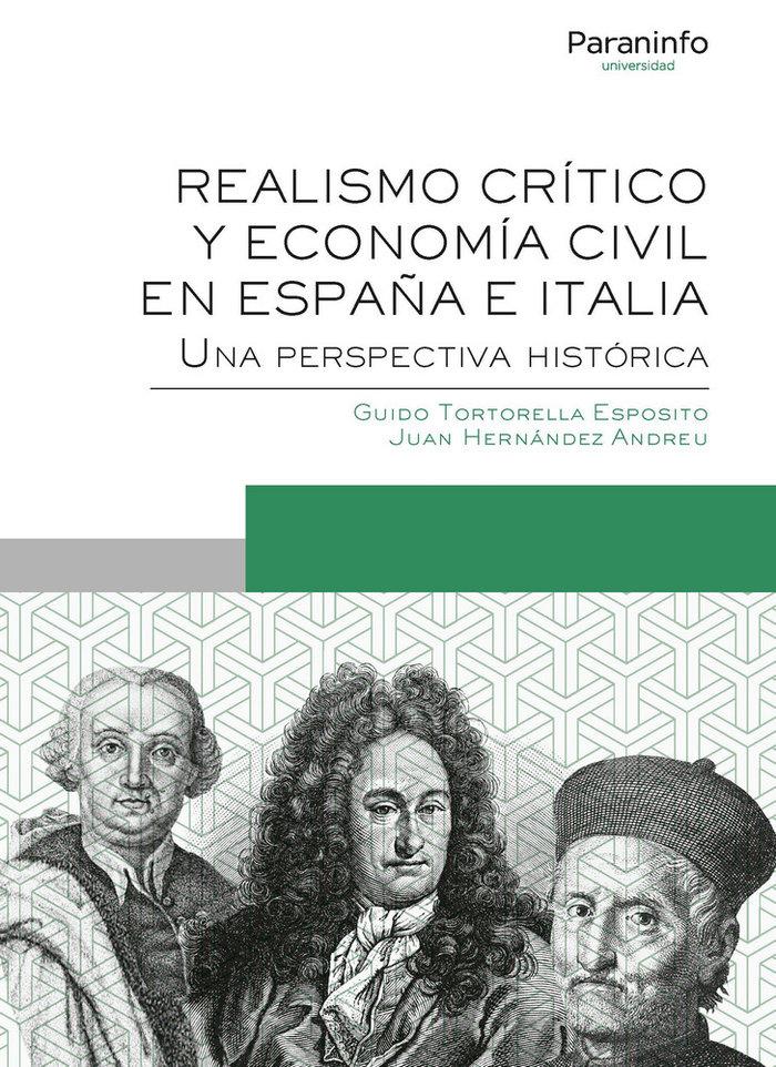 Realismo critico y economia civil en españa e italia una p