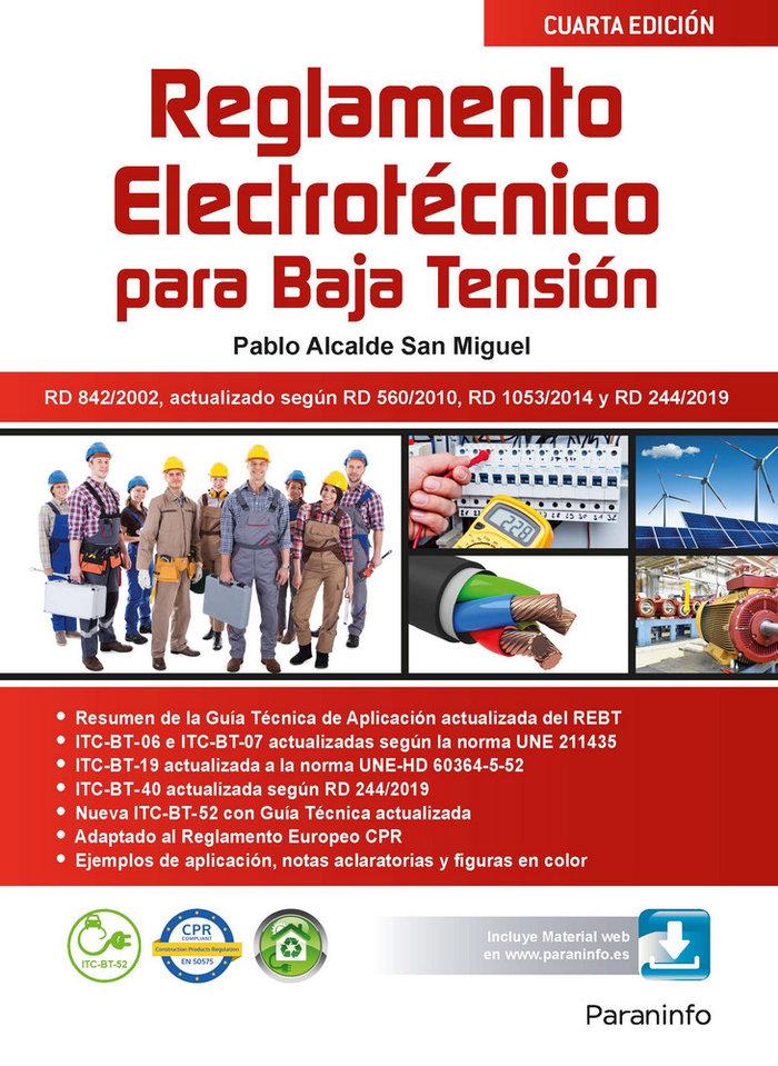Reglamento electrotecnico para baja tension  4.ª edicion