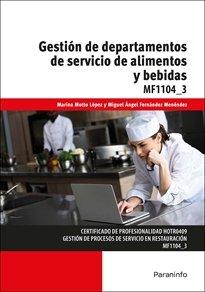 Gestion de departamentos de servicio de alimentos