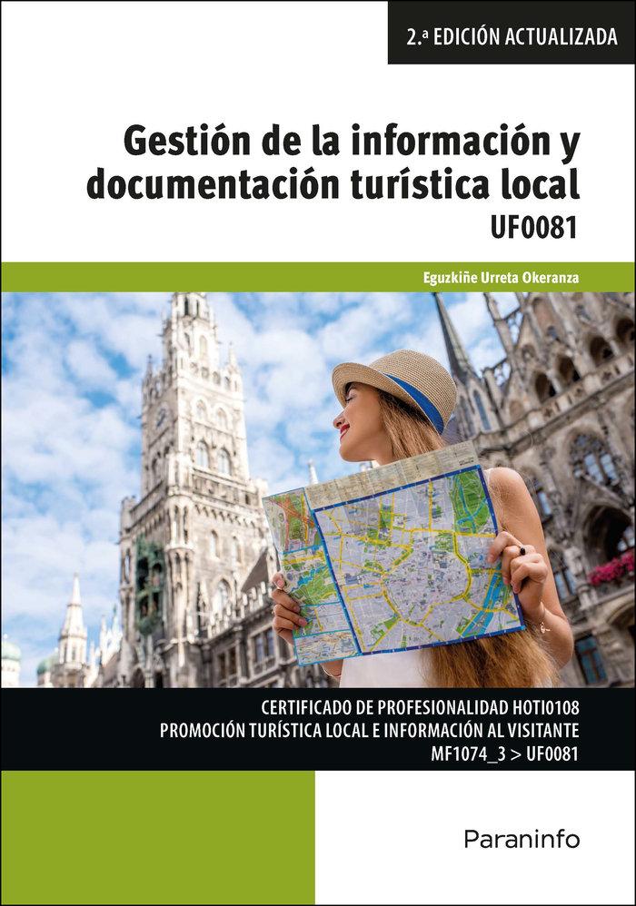 Gestion de la informacion y documentacion turistica local