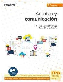 Archivo y comunicacion 2ªed 2021
