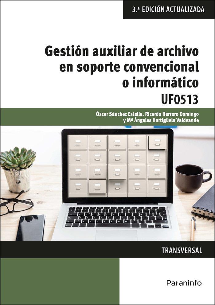 Gestion auxiliar de archivo en soporte convencional o inform