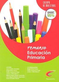 Educacion primaria temario oposiciones cuerpo de maestros