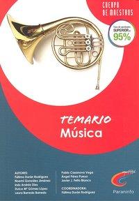 Musica temario oposiciones cuerpo de maestros