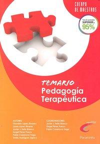 Pedagogia terapeutica temario oposiciones cuerpo maestros