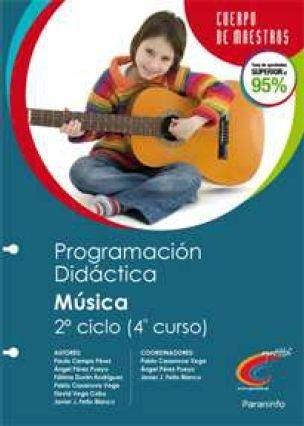 Musica 2ºciclo 4ºep programacion didactica