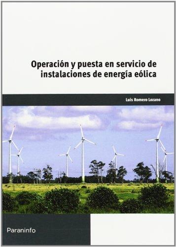 Operacion puesta en servicio instalaciones energia eolica