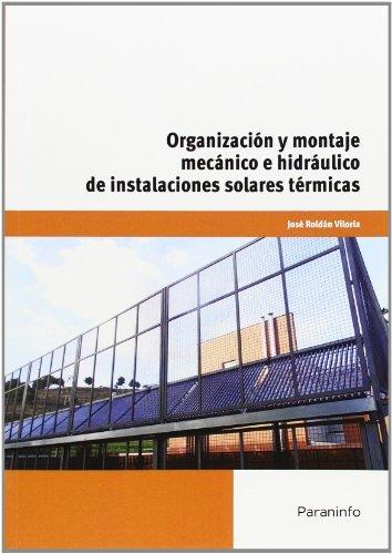 Organizaciones y montaje mecanico e hidraulico instalacione