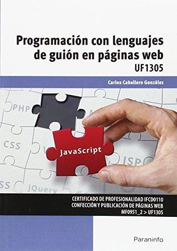 Programacion con lenguajes de guion en paginas web