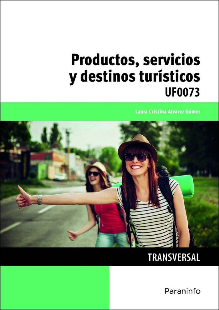 Productos servicios y destinos turisticos
