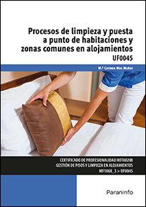 Procesos de limpieza y puesta a punto de habitaciones y zon