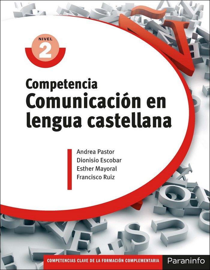 Competencia comunicacion lengua castellana