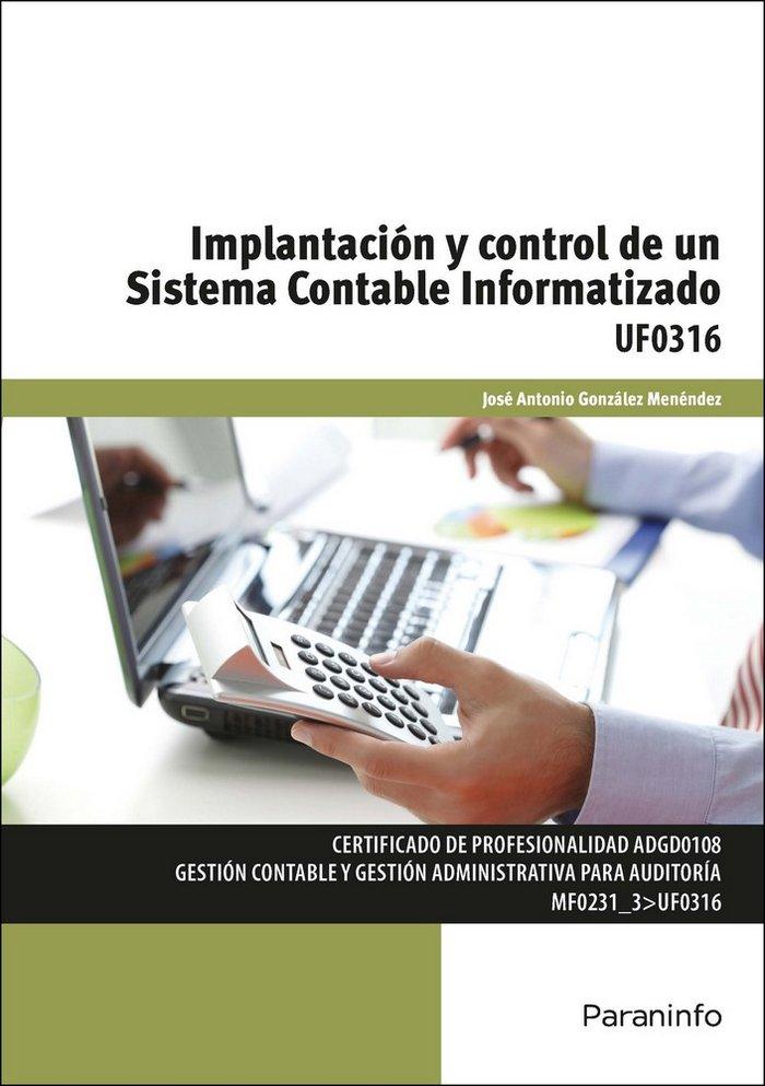 Implantacion y control de un sistema contable informatizado