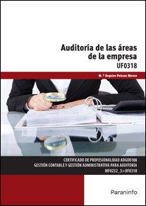Auditoria de las areas de la empresa