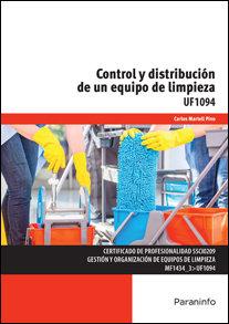 Control y distribucion de un equipo de limpieza