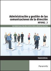 Administracion y gestion comunicaciones direccion