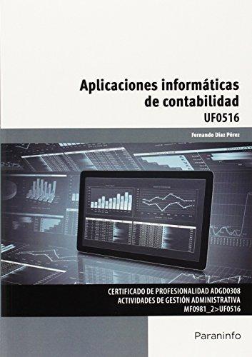 Aplicaciones informaticas de contabilidad