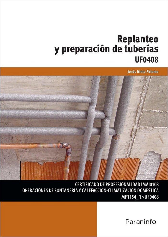 Replanteo y preparacion tuberias