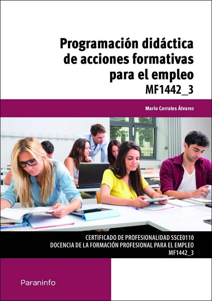 Programacion didactica acciones formativas para el empleo